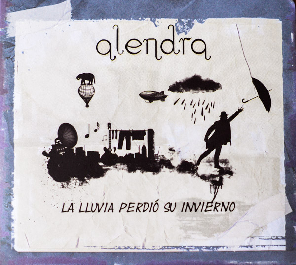 Portada disco La lluvia perdió su invierno - Alendra
