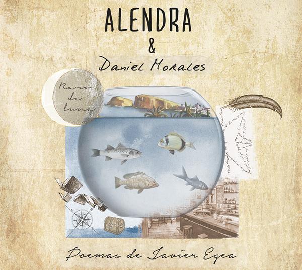 Portada disco Poemas de Javier Egea - Alendra